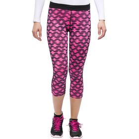 Nike Printed Relay Hardloop Shorts Dames Crop roze